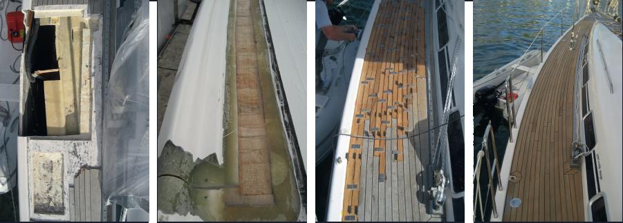 Stück für Stück wurde das Refi t des Bootes vorgenommen und bis ins Detail originalgetreu umgesetzt.